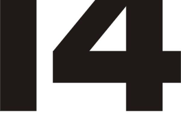 28 Logo, schwarz